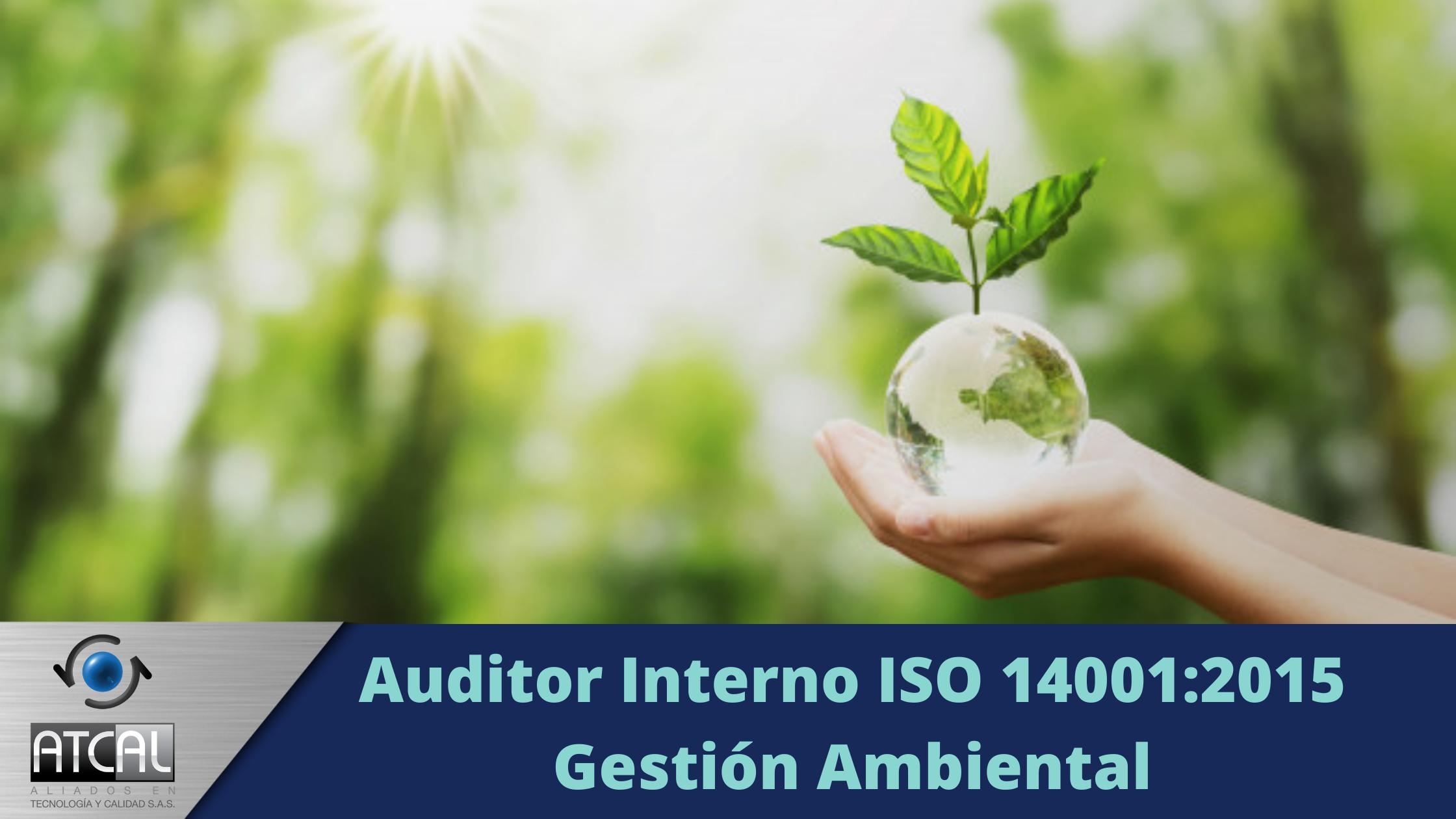 Auditor Interno ISO 14001:2015 Gestión Ambiental