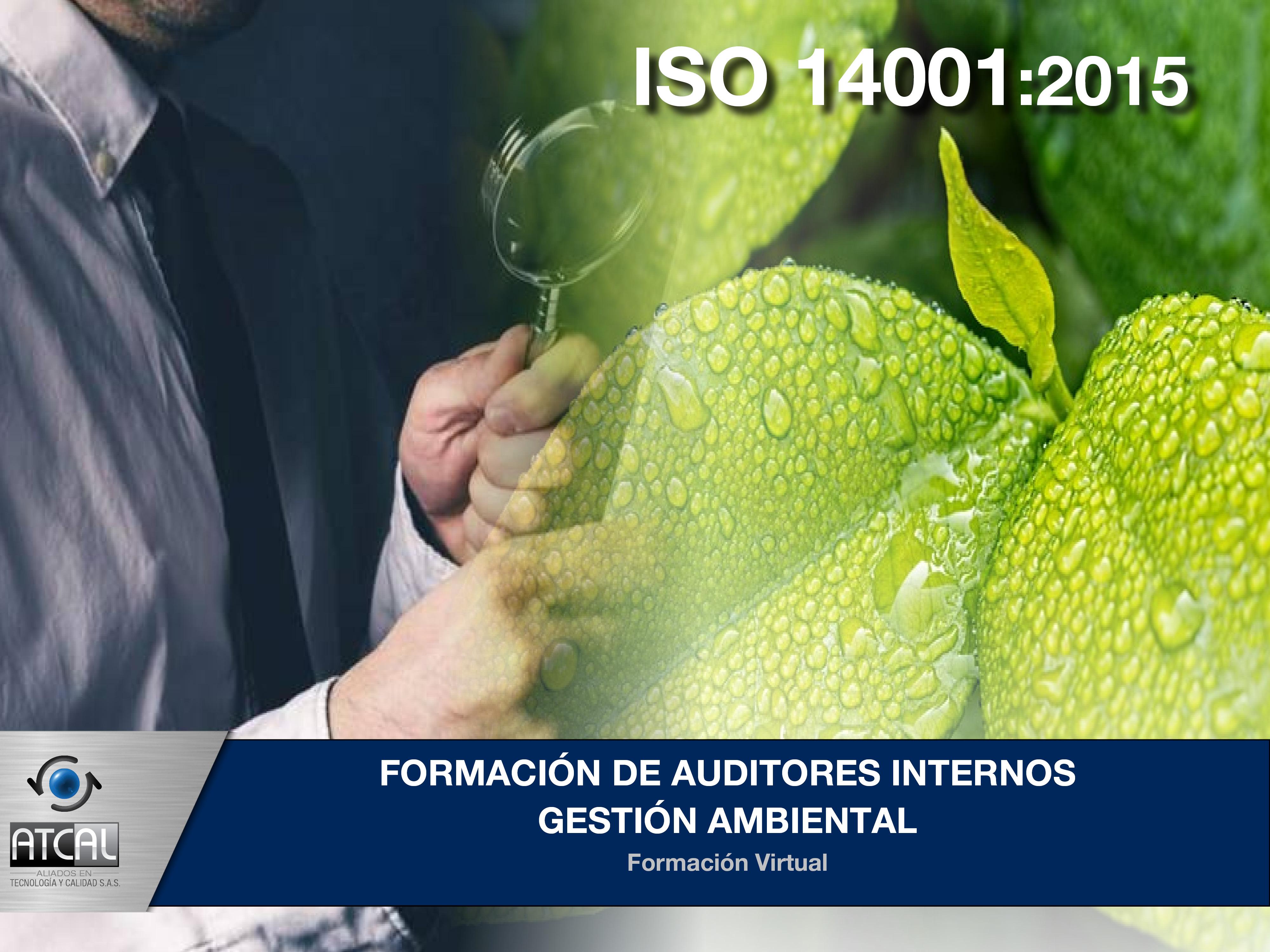 Formación de Auditores Internos Gestión Ambiental ISO 14001:2015