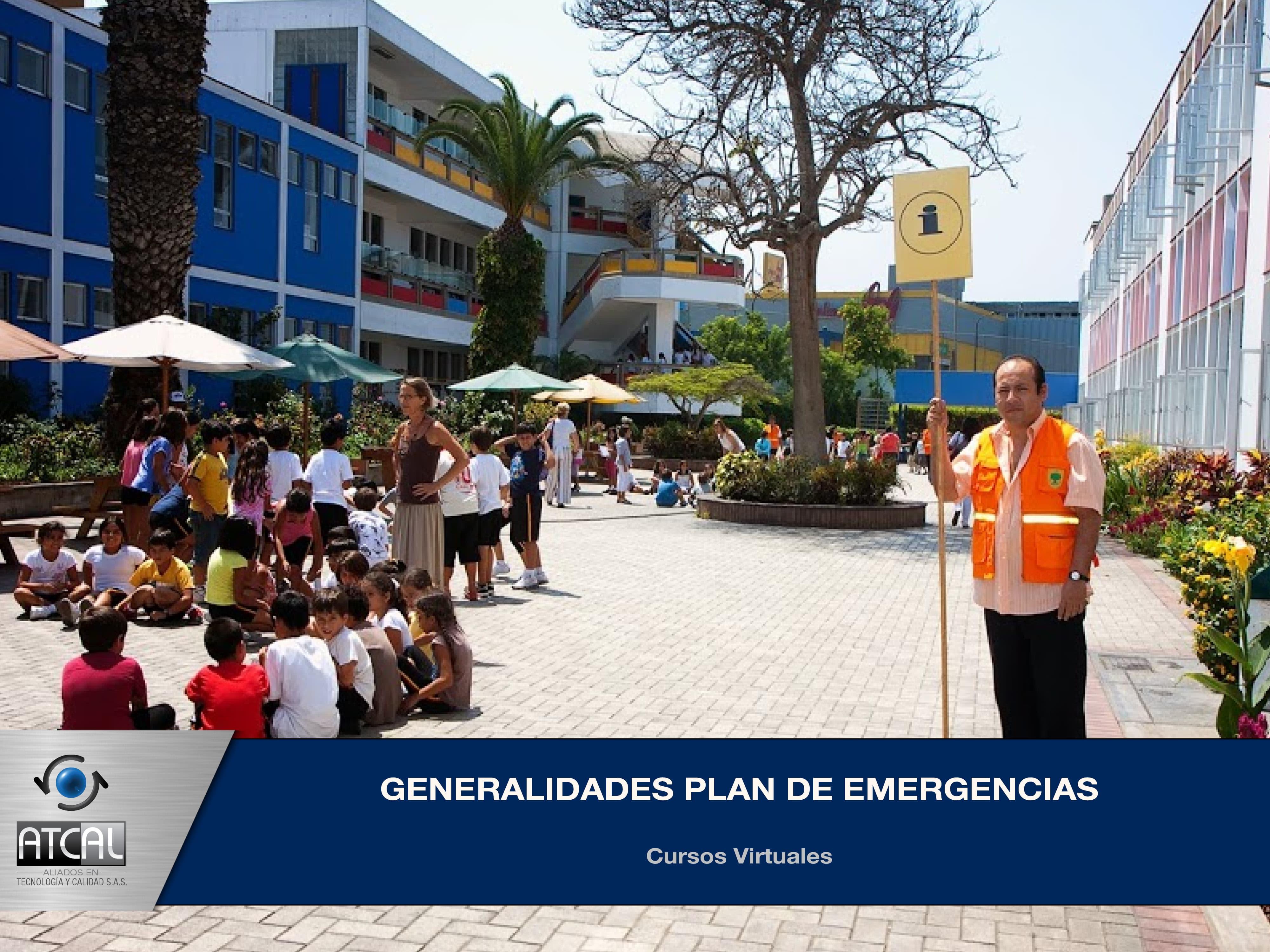 Generalidades Plan de Emergencias y Desastres