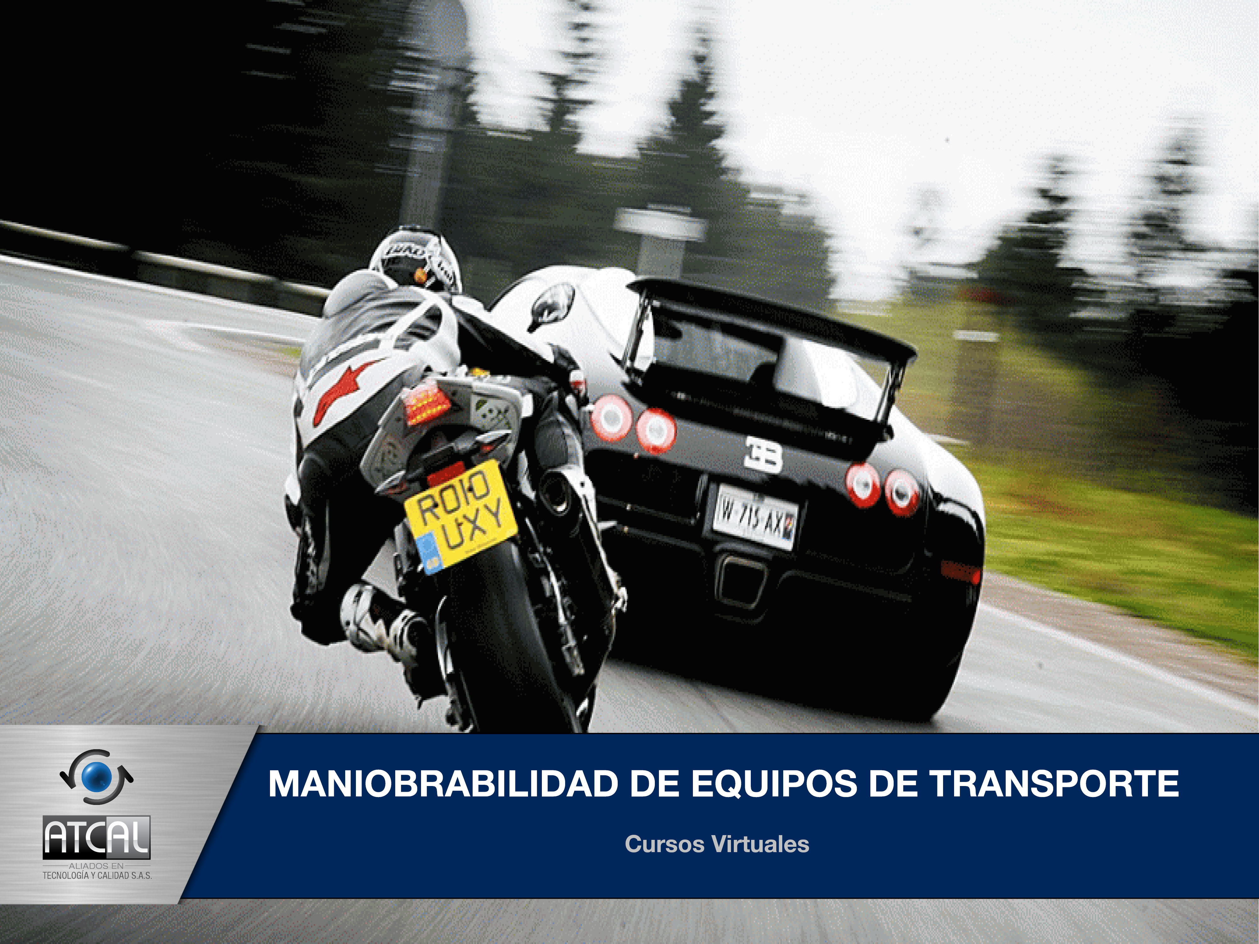 Maniobrabilidad de Equipos de Transporte