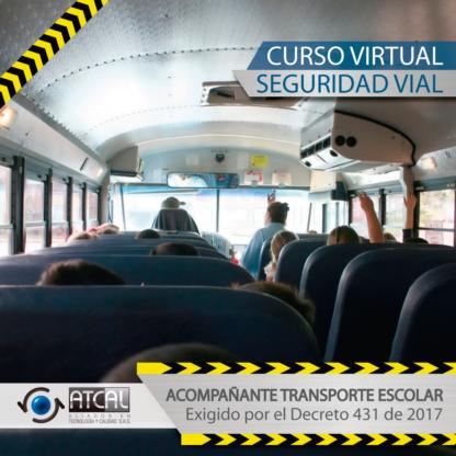 Seguridad Vial - Acompañante Transporte Escolar