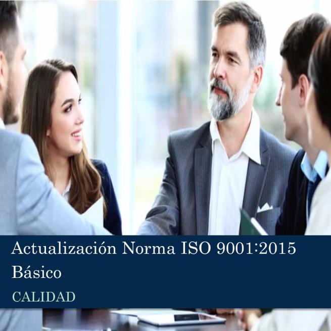 Actualización Norma ISO 9001:2015