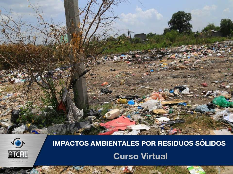 Impactos Ambientales por Residuos Sólidos