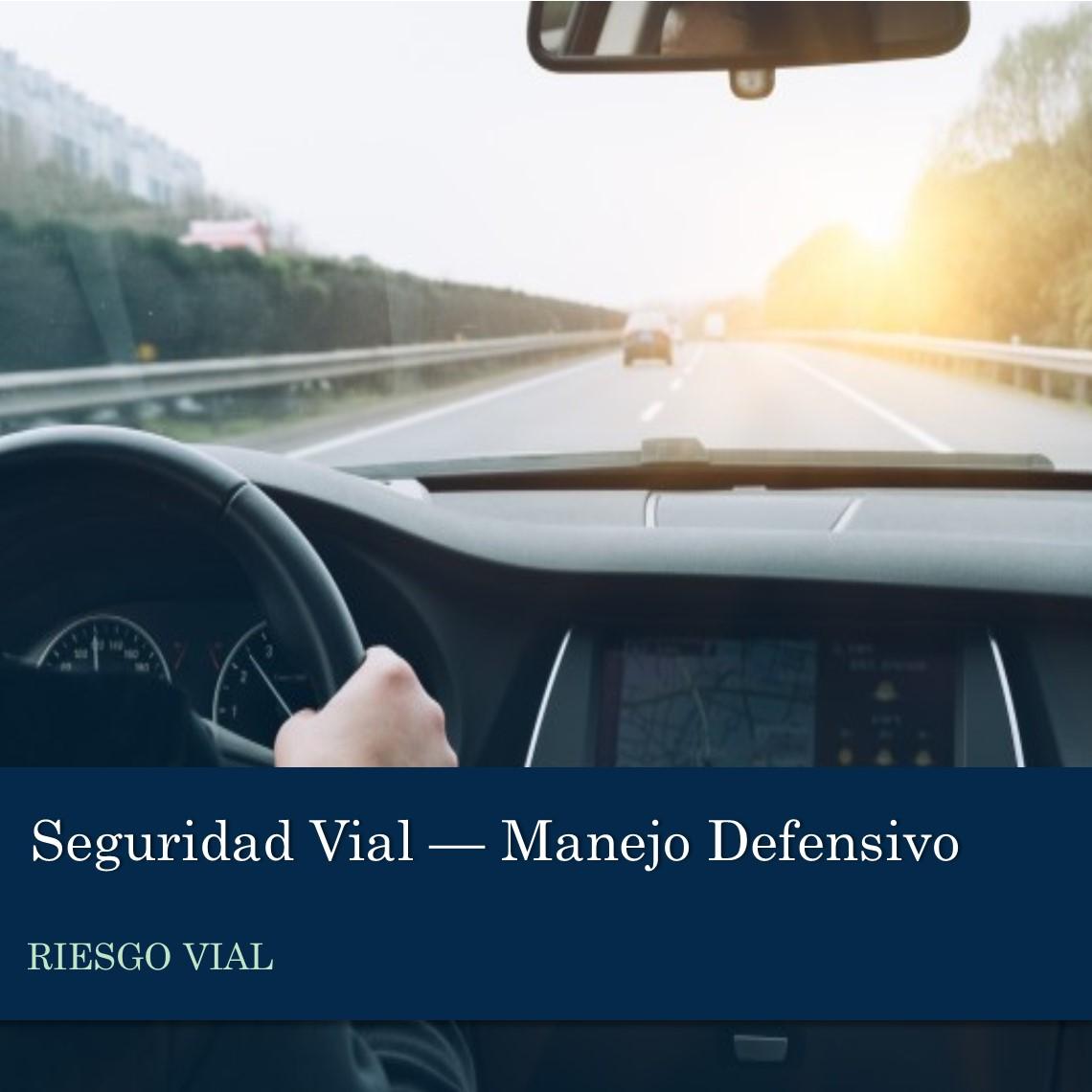 Seguridad Vial - Manejo Defensivo