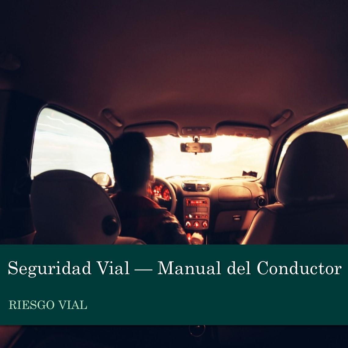 Seguridad Vial - Manual Conductor